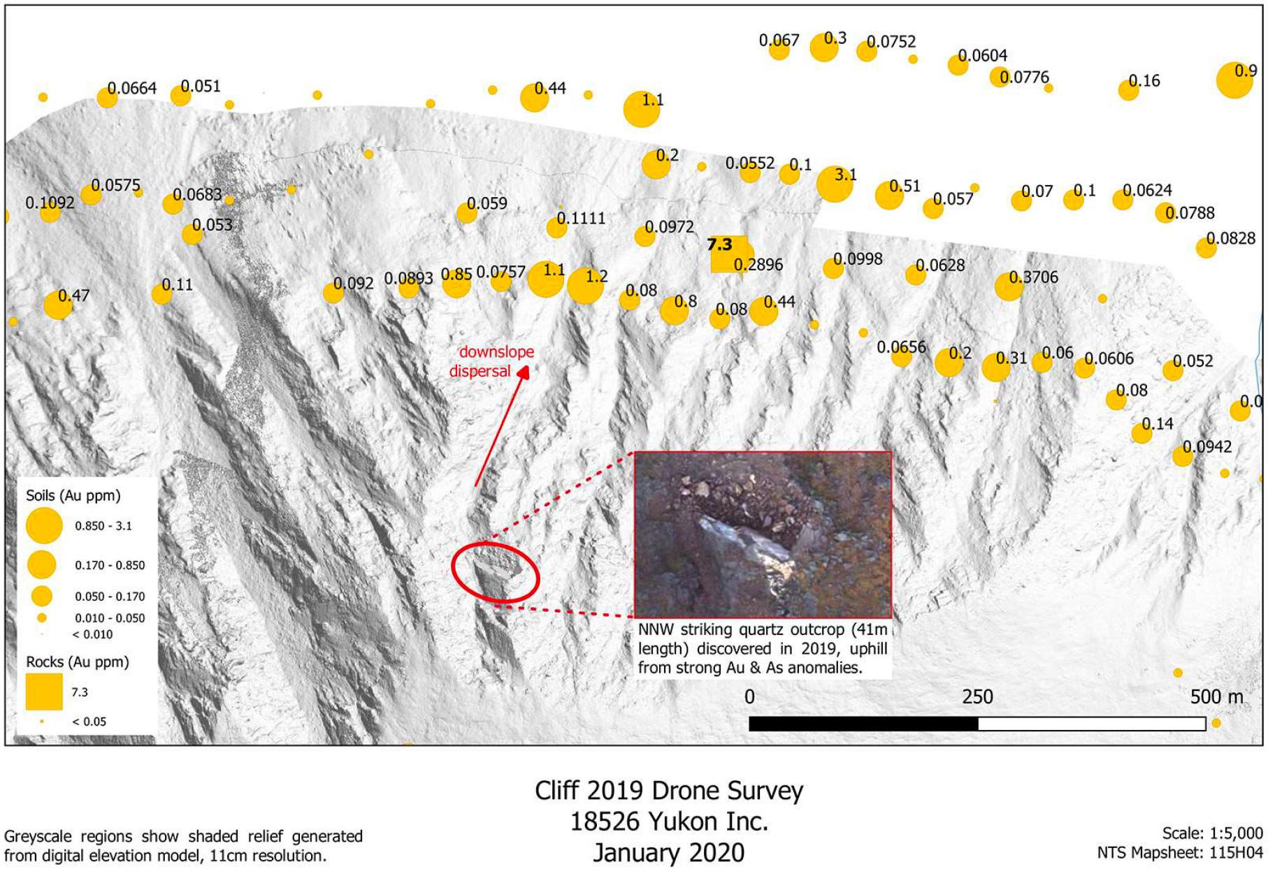 cliff drone survey